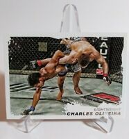 2011 Topps UFC Charles Oliveira RC Debut Rookie Card Next Lightweight MMA Champ