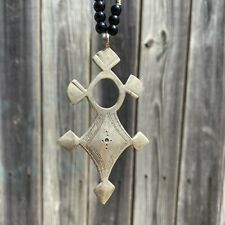 Berber Ethnic Cross Pendant African Traditional Handcrafted Handmade Tuareg