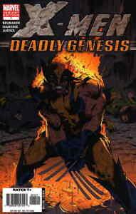 X-Men: Deadly Genesis #1B FN; Marvel | save on shipping - details inside