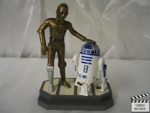 R2D2 & C3PO PVC figure(s) with stand; Applause Star Wars