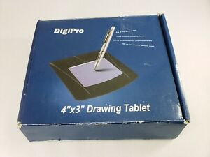 """Digipro 4""""x3"""" Drawing Tablet NEW - USB connection PRIORITY SHIPPING"""
