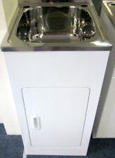Compact 27 Litre Laundry Sink Trough Tub Cabinet