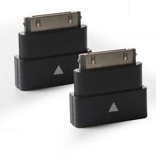 2Packs Dock Extender Adapter Converter Pass Through Adapter for iPhone iPad iPod