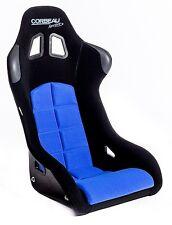 Corbeau Sprint Black Blue cloth Bucket Motorsport Seat FIA Track Day Kevlar GRP