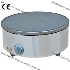 "15.75"" Commercial Nonstick Electric Pancake Crepe Machine Baker Maker Iron Mold"