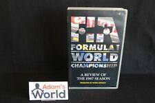 """Duke VHS Video """"FIA Formula 1 World Championship 1987"""" (MM1)"""