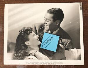 1940 Original Double Weight Photo Hollywood Stamp Barbara Stanwyck & Henry Fonda