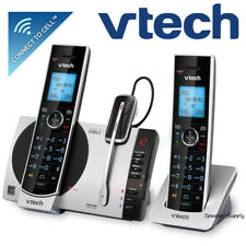 Vtech 2 Handset Connect to Cell Answering System w/ Cordless Headset DS6771-3