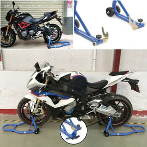 Warrior Front And Rear Motorcycle / Bike Paddock Stand / Stands Combo / Pair