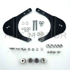 Motorcycle Sissybar Backrest Docking Hardware Kit For Harley Touring 1997-2008