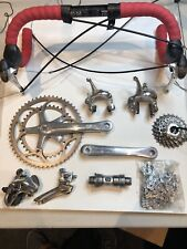 Dura-Ace Groupset 7700 Double Road Cycling Complete 9 Speed with Handlebars