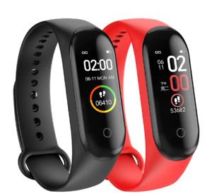 M4 Smart Watch Sports Band Heart Rate Fitness,Heart Rate Blood/WaterproofTracker