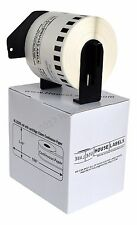 1 Roll DK-2205 Brother-Compatible Continuous Labels With PERMANENT Cartridge
