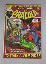 Tomb Of Dracula #3 July 1972 Marvel Comics Intro Rachel Van Helsing Fine 6.0