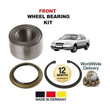 FOR KIA CLARUS 1.8 2.0 16v GC K9A 1996-->ON NEW FRONT WHEEL BEARING KIT