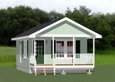 16x30 House -- 1 Bedroom  -- PDF Floor Plan -- 480 sq ft -- Model 4A