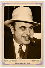 Infamous Mob Kingpin AL CAPONE Vintage Photograph A++ Reprint Cabinet Card CDV