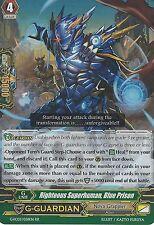 CARDFIGHT VANGUARD CARD: RIGHTEOUS SUPERHUMAN, BLUE PRISON - G-FC03/036EN RR
