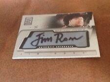 Fleer WWE WWF Off The Mat Auto Autograph Card Jim Ross