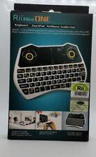 Rii Mini i28C ONE Wireless (AZERTY) - Mini Clavier Française sans Fil avec Souri