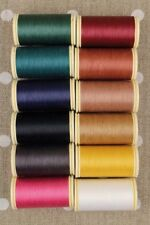 Gloving Thread Fil au Chinois #1 Dark Tones Asst Set Applique of 12 w/Box