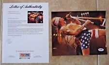 Axl Rose Guns & Roses Signed Autographed 8x10 Live Photo PSA Certified #2