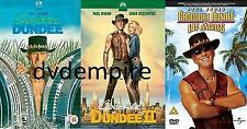 Crocodile Dundee 1 2 & 3 DVD set Brand New and Sealed Australian Release