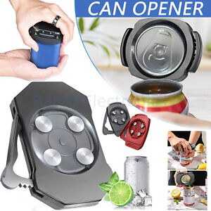 Portable Topless Can Opener Safe Manual Soda Can Opener Convenient Kitchen Tool