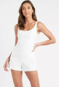 Kookai White FIFI PLAYSUIT size 38 Brand new with tagssold out