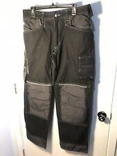 Helly Hansen Workwear Men's Chelsea Construction Pants Black Charcoal 36 X 32