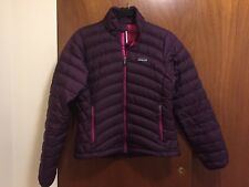 Patagonia Full Zip Goose Down Jacket Coat Women Size: S