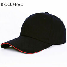Black+Red Men Women Baseball Cap Snapback Hat Hip-Hop Adjustable Bboy Caps 2017