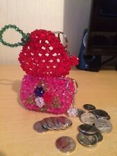 107571c30a Beaded Coin Purse in Women's Purses & Wallets for sale | eBay