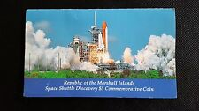 Commemorative $5 Coin Space Shuttle Discovery Marshall Islands