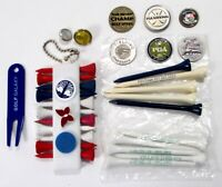 Misc Golf Items:100th US Open PGA Champ Ball Markers Divot Tool Tee Holder Tees