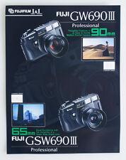 FUJI GW690 III PRO 90MM/65MM INFO SHEETS