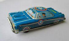 "1960's Vintage Litho 4"" blue #4720 Friction Car Circle Y Japan, Navy Sf-25; Nice"