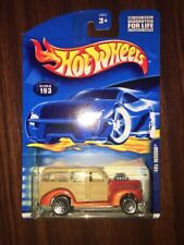 2000 Hot Wheels .Com '40s Woodie Orange Loose NEW IN PACKAGE WITH BLUE CARD