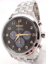 Seiko SSC563 Solar Chronograph Stainless Steel 100M Men's Watch