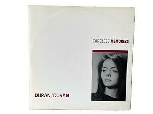 "DURAN DURAN - CARELESS MEMORIES    NEAR MINT 12"" VINYL  / PROMO COPY"