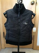 "Fox Racing - ""Girls Snuggle"" Puffy Vest - Black - Size Small - NEW"