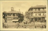 EGYPT  Port Said Street Commerce Vintage Postcard   Ai.968