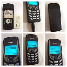 CELLULARE NOKIA 6510 GSM PHONE NERO BLACK NEGRO SIM FREE UNLOCKED DEBLOQUE