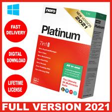 Nero Platinum Suite 2021 ✔ Full Version ✔ | Lifetime ✔ multilingual ✔