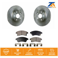 Front Disc Rotors & Semi-Metallic Brake Pads Fits Chevrolet Cruze Sonic Limited