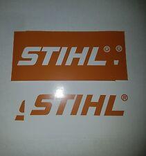 "4 NEW 2"" x 4"" STIHL Tool Stickers CHAINSAW Blower Trimmer vinyl Decals"