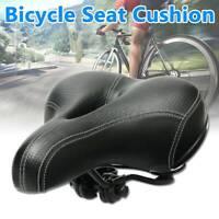Wide Big Bicycle Saddle Seat Big Bum Soft Extra Comfort Cushion Pad Sprung Gel