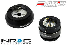 NRG Steering Wheel Short Hub SRK-160H + Black Gen2 Quick Release w/ Carbon Ring