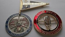3 timeless Alfa Romeo classic grill badges emblem badges - fits all ALFA Romeo's