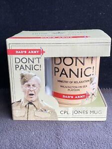 DADS ARMY GIFTS - Cpl. Jones Mug Don't Panic  (401547) Still Boxed